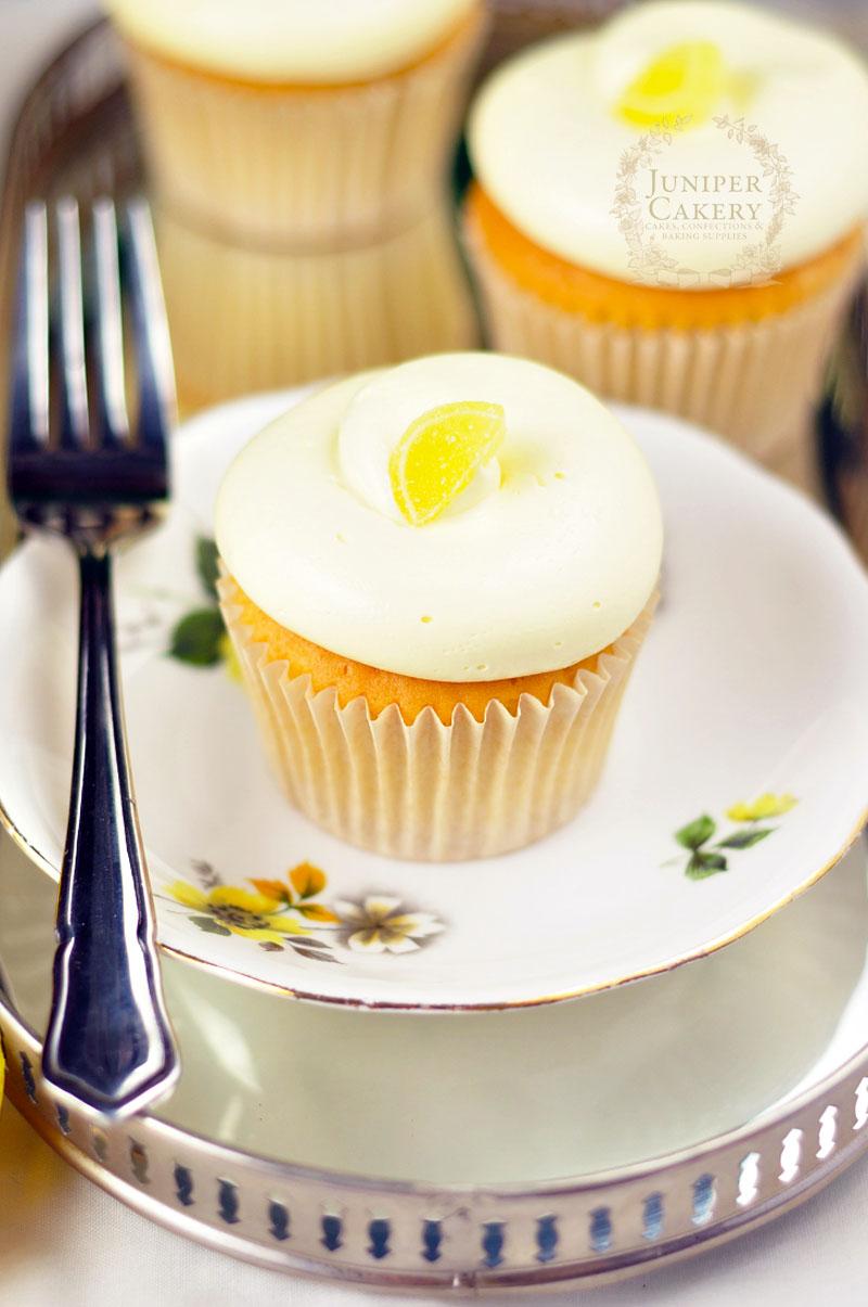 Lemon cupcake recipe by Juniper Cakery
