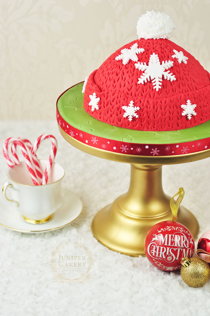 Christmas Tutorial Tuesday How Make A Woolly Winter Hat Cake
