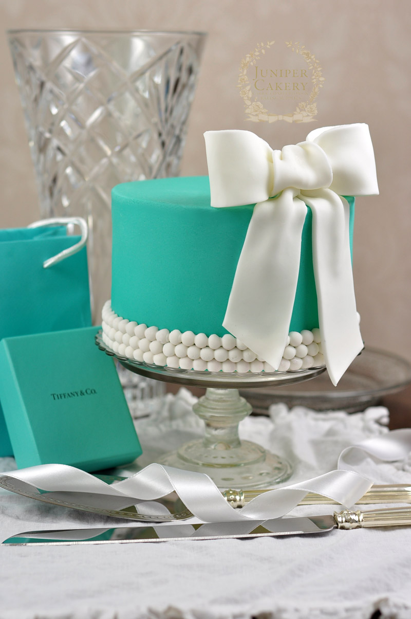Tiffany And Co Bridal Shower Cake