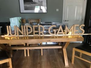 Juniper Games LED Sign