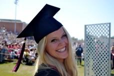 Christina Figone, Chico State grad.