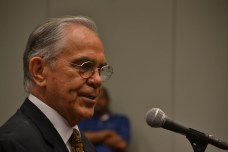 Ruben Hinojosa, chair of the Congressional Hispanic Caucus Institute at 2013 annual conference.