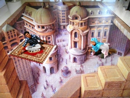 Pameran Seni Artphoria: Lukisan 3D Bergaya Eropa Klasik (Renaissance) #Part 2 (2/6)
