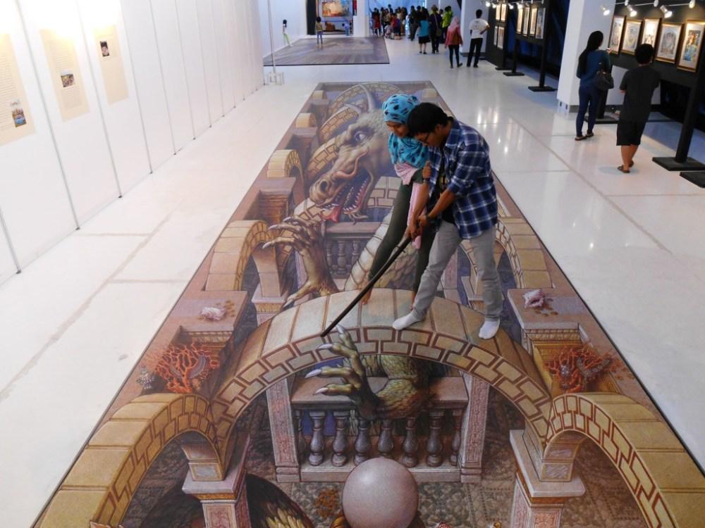 Pameran Seni Artphoria: Lukisan 3D Bergaya Eropa Klasik (Renaissance) #Part 2 (4/6)