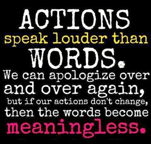 Getting Understand: Actions Speak Louder Than Words