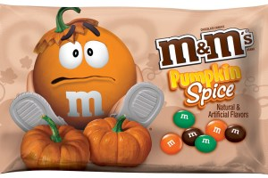 He is probably confused because he doesn't taste anything like pumpkin spice.