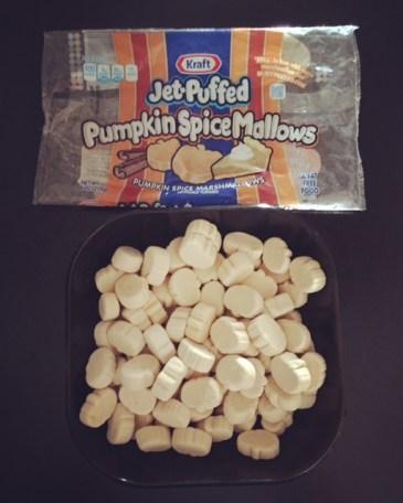 Jet-Puffed Pumpkin Spice Mallows