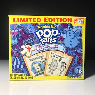 Kellogg's Frosted Sugar Cookie Pop Tarts