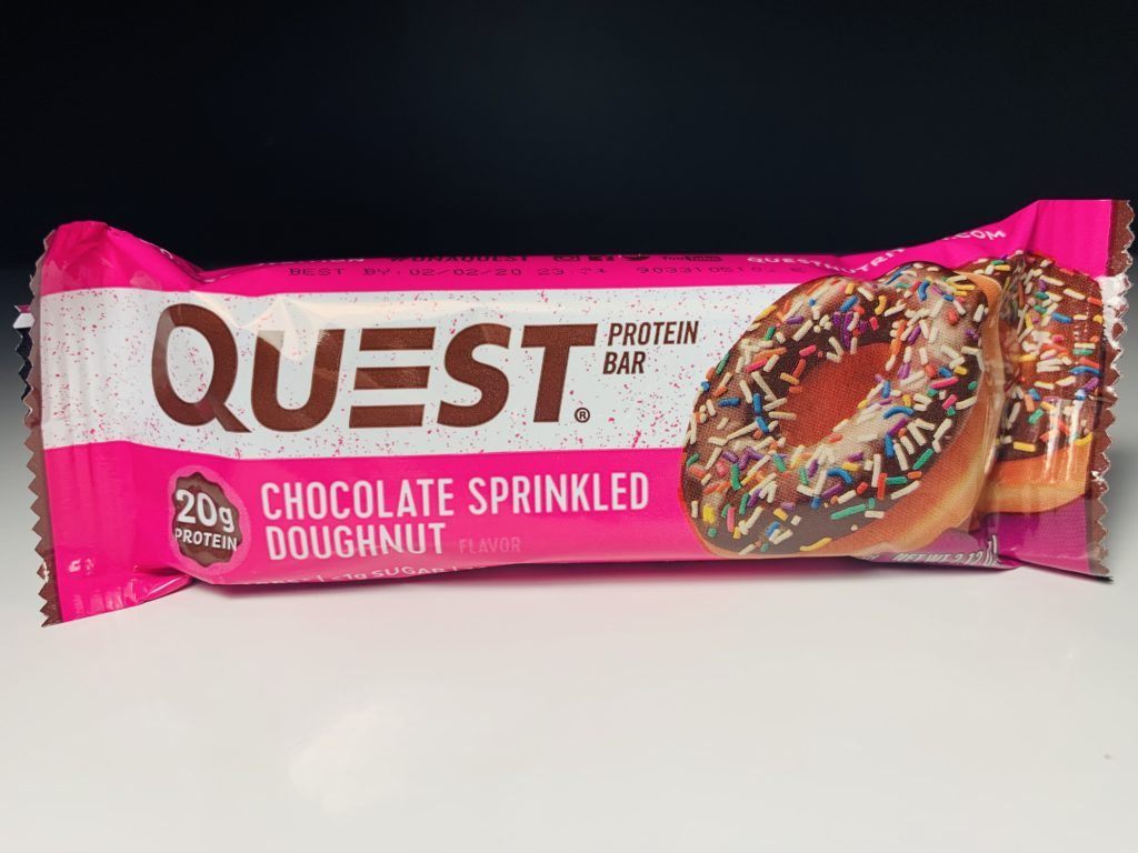Review Quest Bars Updated With Chocolate Glazed Doughnut Junk