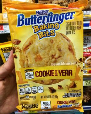Nestle Toll House House Cookie of the Year Nestle Butterfinger Baking Bits