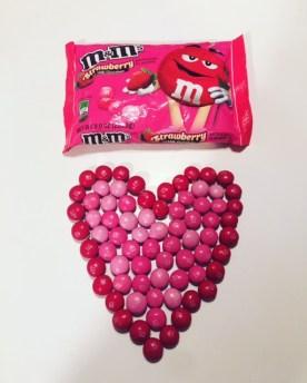 Strawberry M&M's