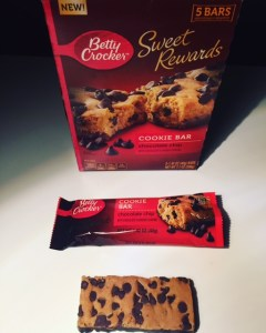 Betty Crocker Sweet Rewards Chocolate Chip Cookie Bar