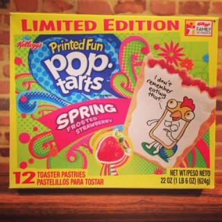 Kellogg's Frosted Spring Strawberry Pop Tarts