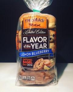 Thomas' Lemon Blueberry Bagels