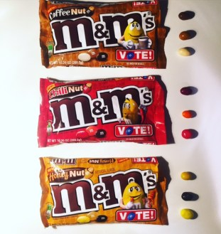 M&M's Vote For Your Favorite Peanut