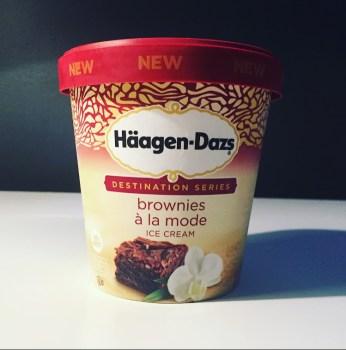 Haagen-Dazs Brownies à la Mode