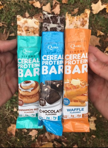 Quest Beyond Cereal Bars