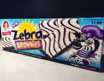 Little Debbie Zebra Brownies