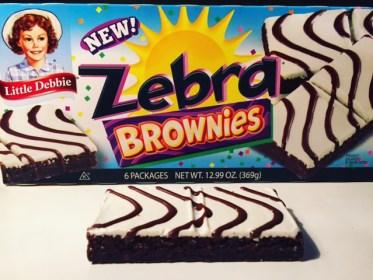 Little Debbie Zebra Brownie