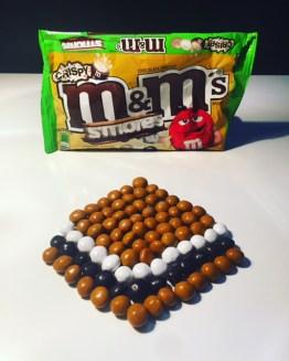 S'mores Crispy M&M's