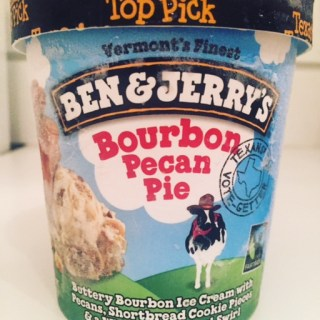 Ben & Jerry's Bourbon Pecan Pie