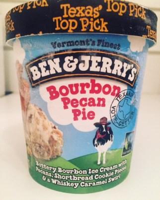 Ben & Jerry's Bourbon Pecan Pie