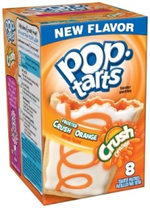 Kellogg's Frosted Crush Orange Pop Tarts