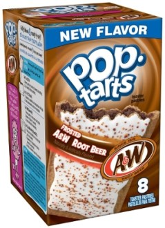 Kellogg's Frosted A&W Root Beer Pop Tarts