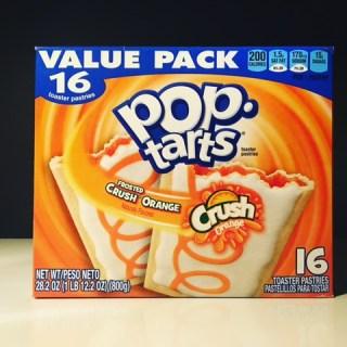 Kellogg's Frosted Crush Orange Pop Tarts