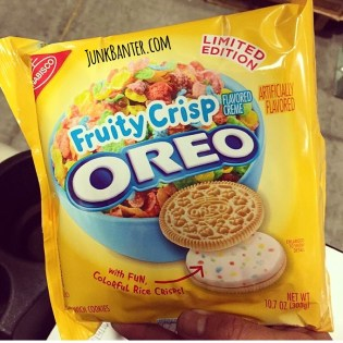 Nabisco Fruity Crisp Oreos
