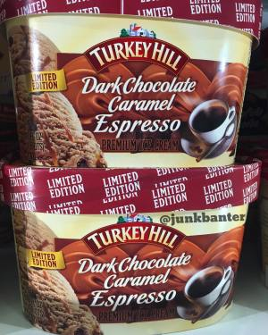 Turkey Hill Dark Chocolate Caramel Espresso Ice Cream