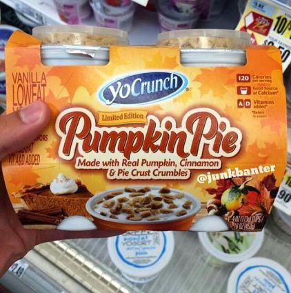 YoCrunch Pumpkin Pie