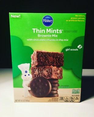 Pillsbury Thin Mints Brownies Mix