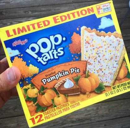 Kellogg's Pumpkin Pie Pop Tarts