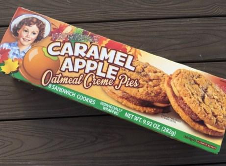 Little Debbie Caramel Apple Oatmeal Creme Pie