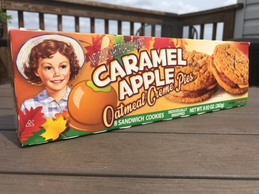 Little Debbie Caramel Apple Oatmeal Creme Pies