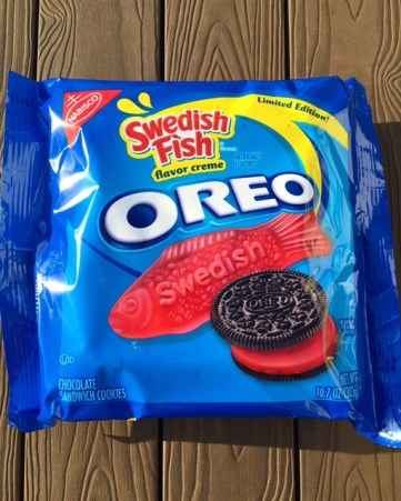 Nabisco Swedish Fish Oreos