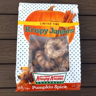 Krispy Kreme Pumpkin Spice Krispy Juniors
