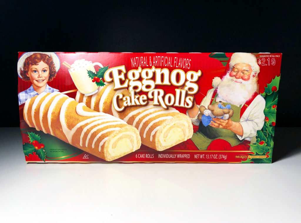 REVIEW: Little Debbie Eggnog Rolls