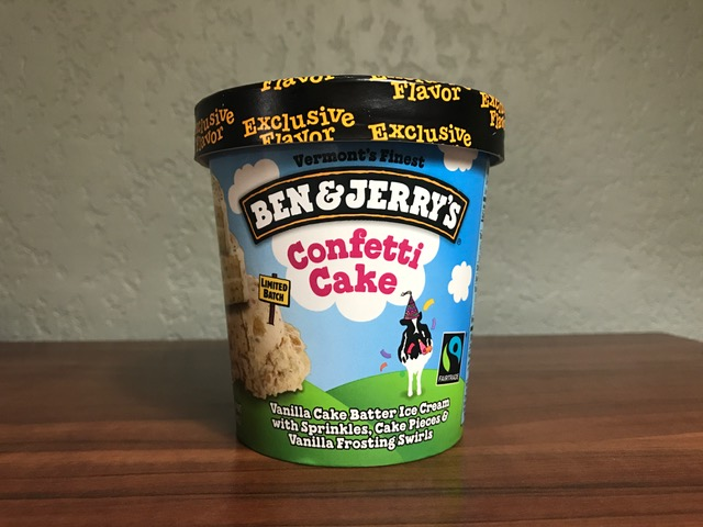 Ben And Jerry S Confetti Cake Walmart