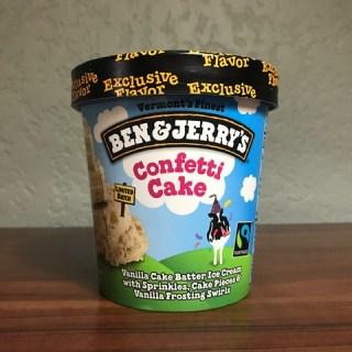 Ben & Jerry's Confetti Cake