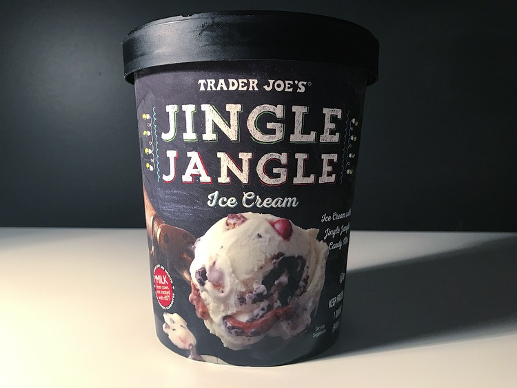 REVIEW: Trader Joe's Jingle Jangle Ice Cream