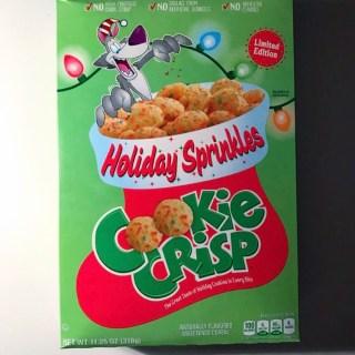 General Mills Holiday Sprinkles Cookie Crisp