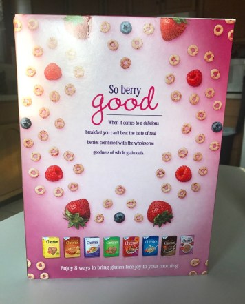 General Mills Very Berry Cheerios