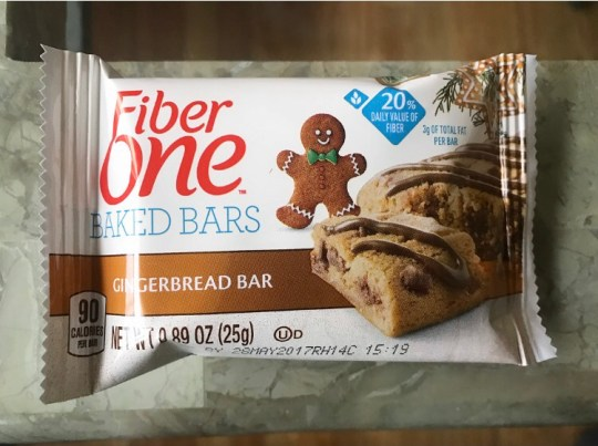 Fiber One Gingerbread Bars