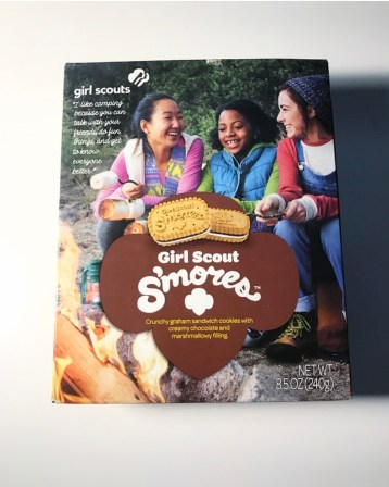 Girl Scouts S'mores Cookies