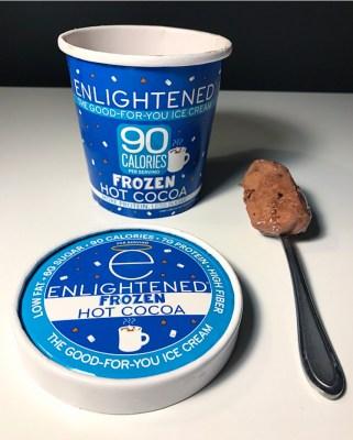 Frozen Hot Chocolate Enlightened