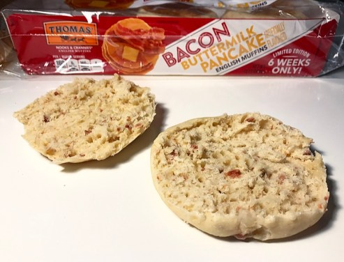 Thomas' Bacon Buttermilk Pancake English Muffins
