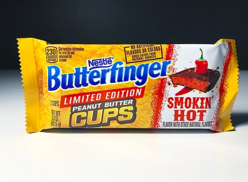 Nestle Butterfinger Peanut Butter Cups Smokin' Hot