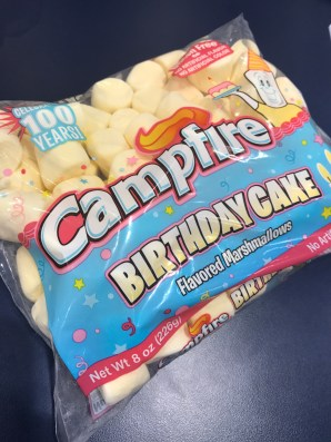 Campfire Birthday Cake Marshmallows